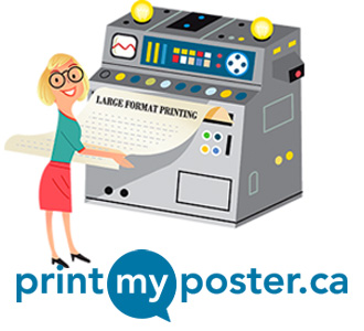 Get your poster printed online.
